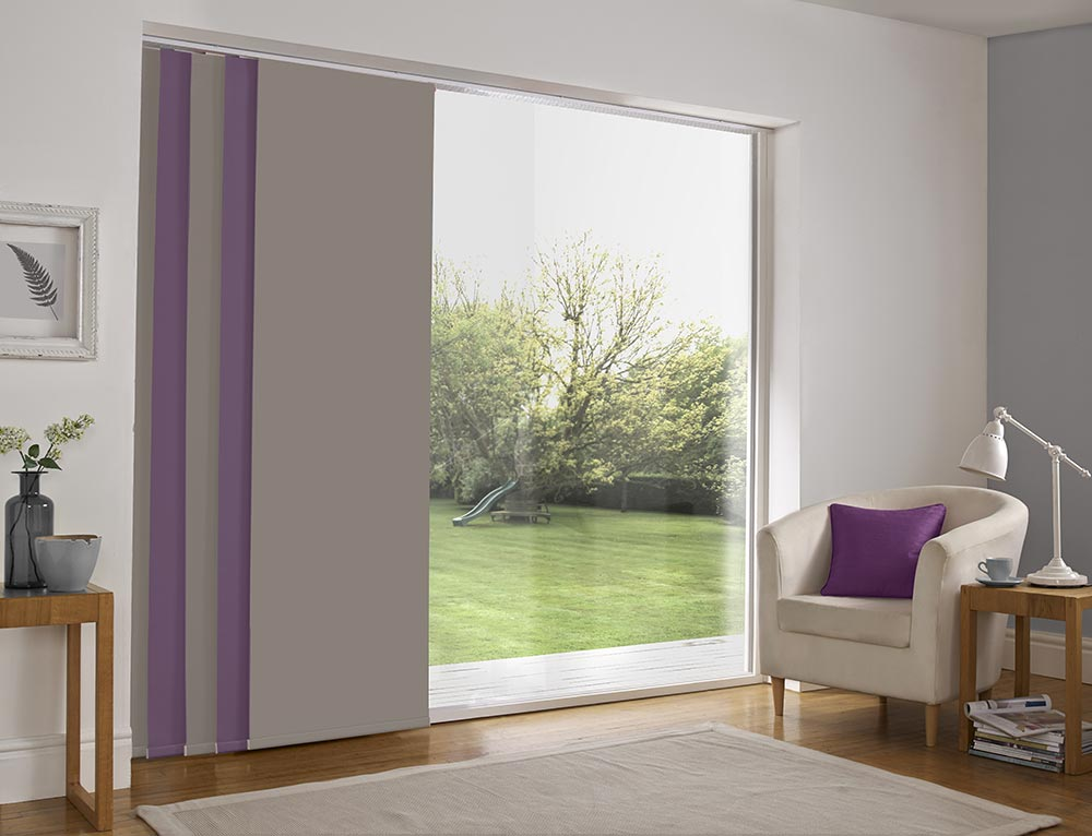 Bolton blinds panel blinds for your windows bolton blinds for Panel tracks for patio doors