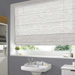 Calico-Oyster-Roman-Blind