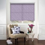 Sea-Leaves-Lilac-Roller-Blind