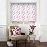 Waterflower-Magnolia-Roller-Blind