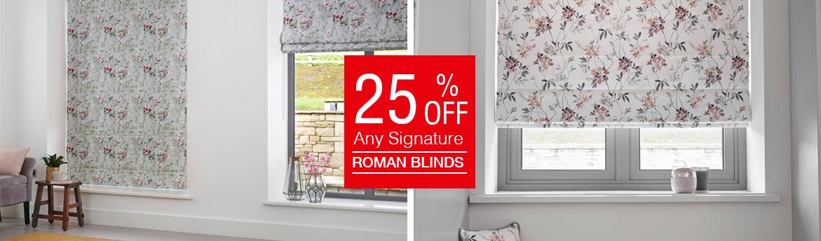 Roman Blind Offer